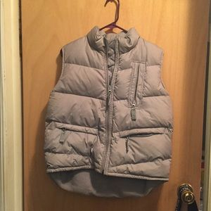 AE fur lined Puffer vest
